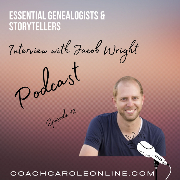 DabbleWriter for Genealogists: Interview with Jacob Wright artwork