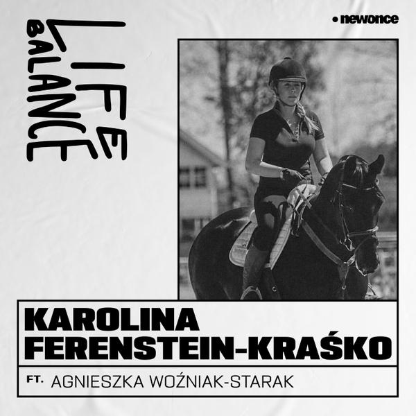 Karolina Ferenstein-Kraśko. Dama z końmi artwork