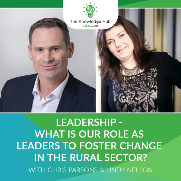 Leadership - What is our role as leaders to foster change in the rural sector? artwork