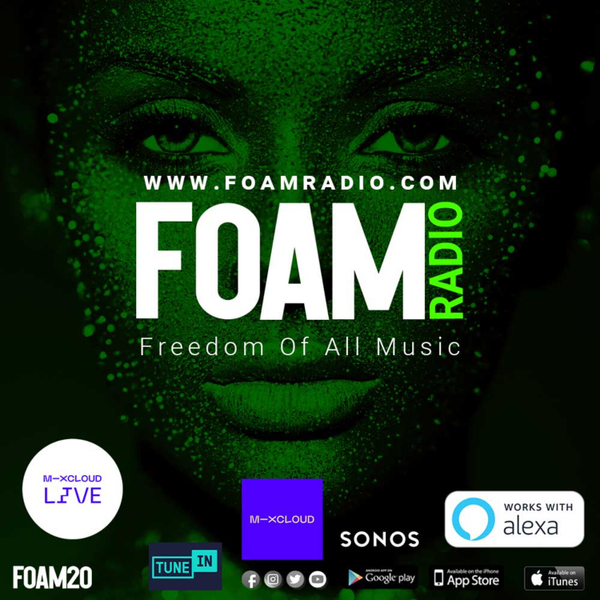 FOAM RADIO recorded shows and mixes artwork