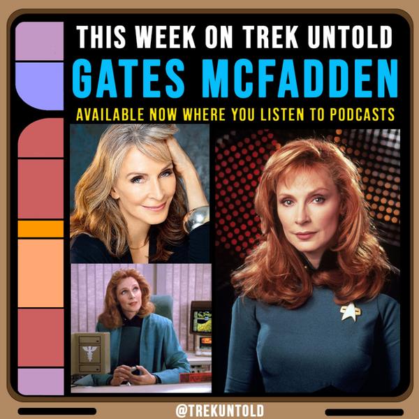 53: Gates McFadden, Dr. Beverly Crusher from Star Trek TNG artwork