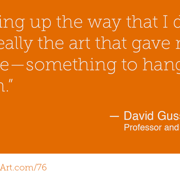 76 - Art therapy in prisons with David Gussak