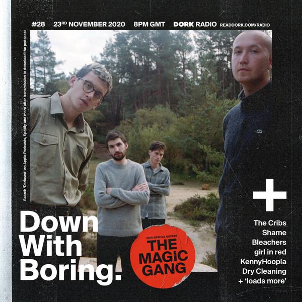 Down With Boring #0028: The Magic Gang artwork