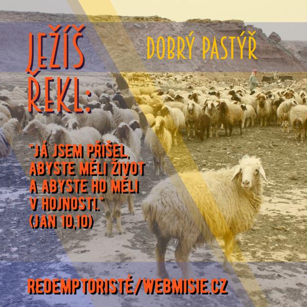 Ježíš je dobrým pastýřem