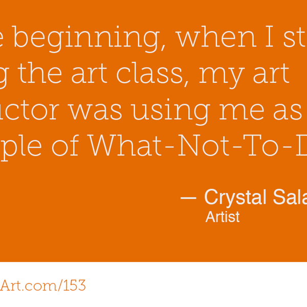 153 - Teaching and connecting through colouring with Crystal Salamon
