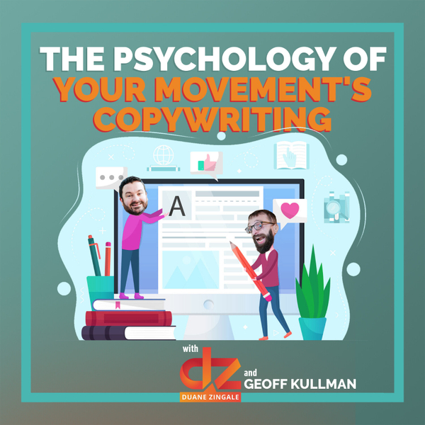 MYMS 46: The Psychology of Your Movement's Copywriting with Geoff Kullman artwork