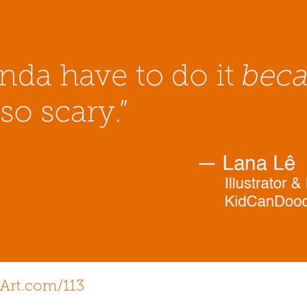 113 - Illustrating, inspiring and immigrating with Lana Lê artwork