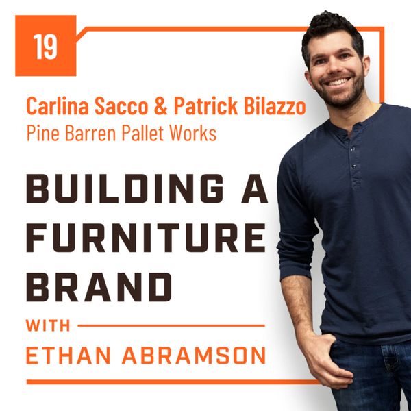 Hitting The Ground Running with Carlina Sacco and Patrick Bilazzo of Pine Barren Pallet Works artwork