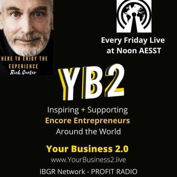YB2 - Your Business 2.0 with Rick Carter artwork