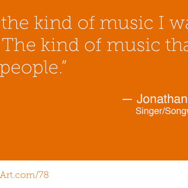 78 - Songs that let you question the world with Jonathan Ferguson