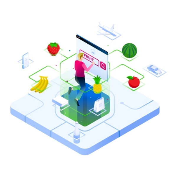 Weaviate, an open-source search engine powered by machine learning, vectors, graphs, and GraphQL. Featuring co-founder Bob van Luijt artwork
