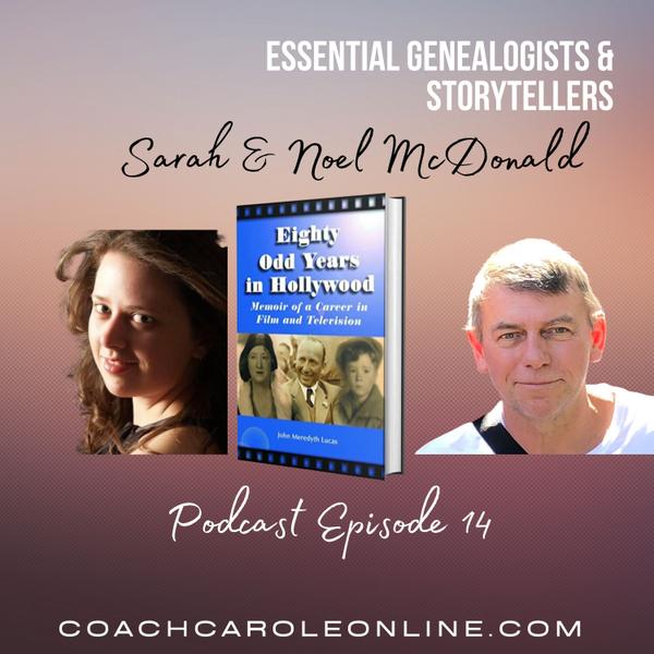 Stories from Genealogists: Interview with Noel & Sarah McDonald artwork