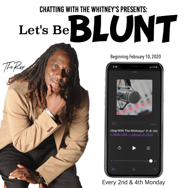 """""""Let's Be Blunt - With The Rev"""" (6-8-20) artwork"""