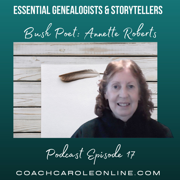 Bush Poet: Interview with Annette Roberts artwork