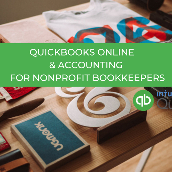 QuickBooks Online and Accounting For Non-profit Bookkeepers artwork