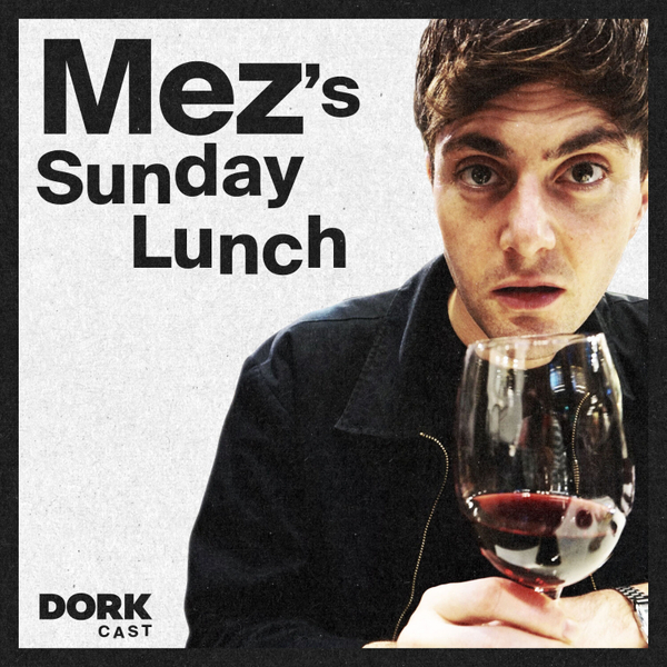 Mez's Sunday Lunch #0001: Cone of Mushy Peas (With Mint Sauce)