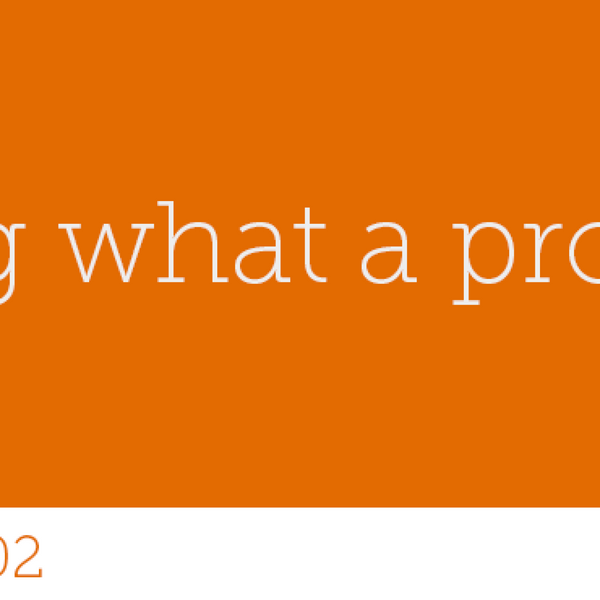 102 - Knowing what a project isn't