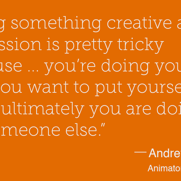28 – Reach your goal and continue learning – Andrew Ford - Animator
