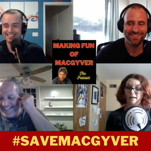 #SaveMacGyver artwork