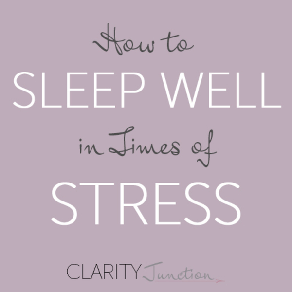 0024 - How to Sleep Well in Times of Stress