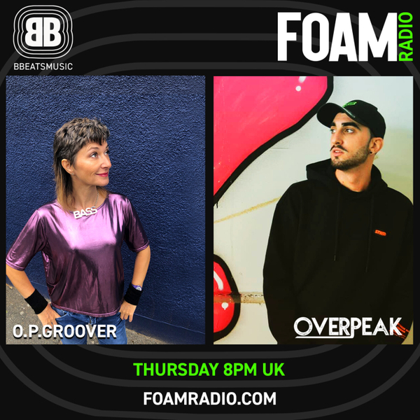 B BEATS - OPGroover with Overpeak - House & Breakbeat  Ep20 artwork