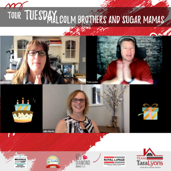 Malcolm Brothers and Sugar Mamas on Tour Tuesday artwork