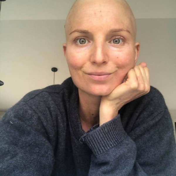 The emotions behind by Stage 4 breast cancer diagnosis · Kate Callaghan artwork