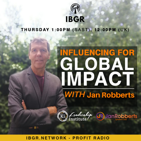 Influencing for Global Impact with Jan Robberts artwork