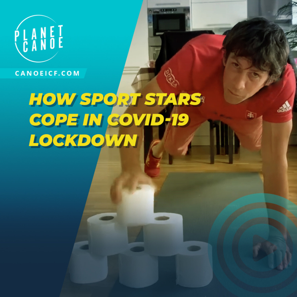 How sport stars cope in Covid-19 lockdown: Episode 1 artwork