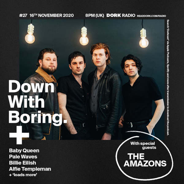 Down With Boring #0027: The Amazons artwork