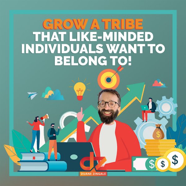 MYMS 39: Grow a tribe that like-minded individuals want to belong to! artwork