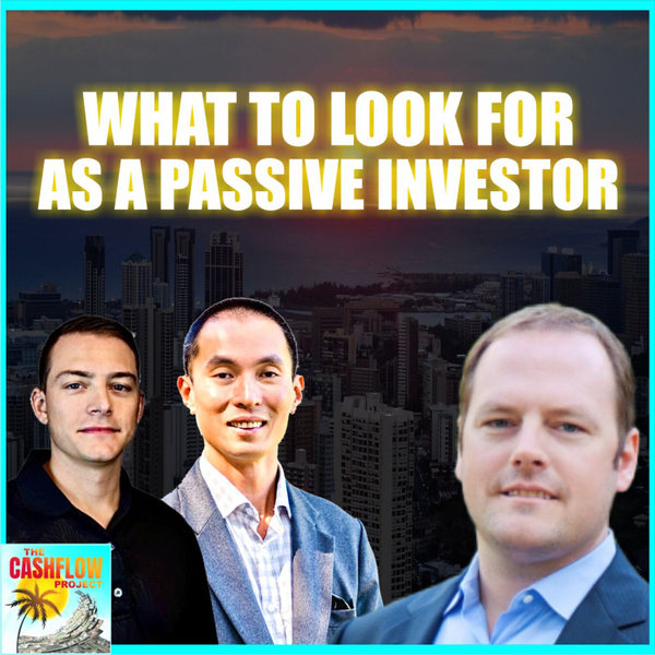 What to look for as a passive investor with Dan Handford artwork