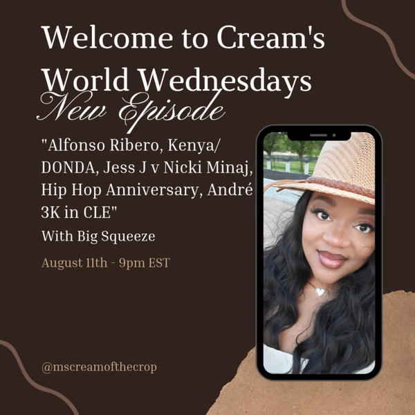 Welcome to Cream's World Wednesdays: Andre 3K Spotted in CLE artwork
