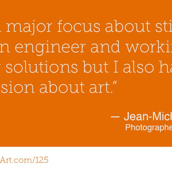 125 - Art & Engineering with Jean-Michel Gires artwork