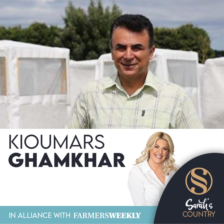"Dr Kioumars Ghamkhar | ""Seed gold needs mining"""