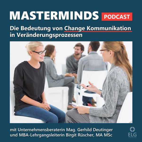 #25 Bedeutung  von Change Kommunikation in Veränderungsprozessen artwork