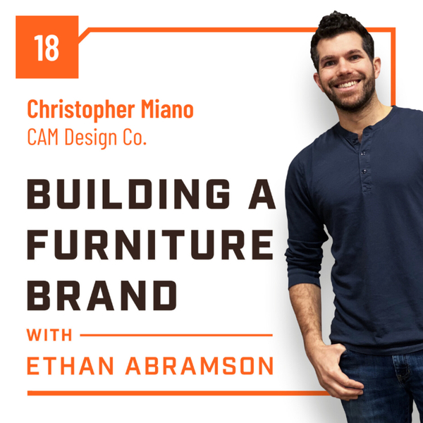 The Artistic side of the Furniture Business with Christopher Miano of CAM Design co artwork