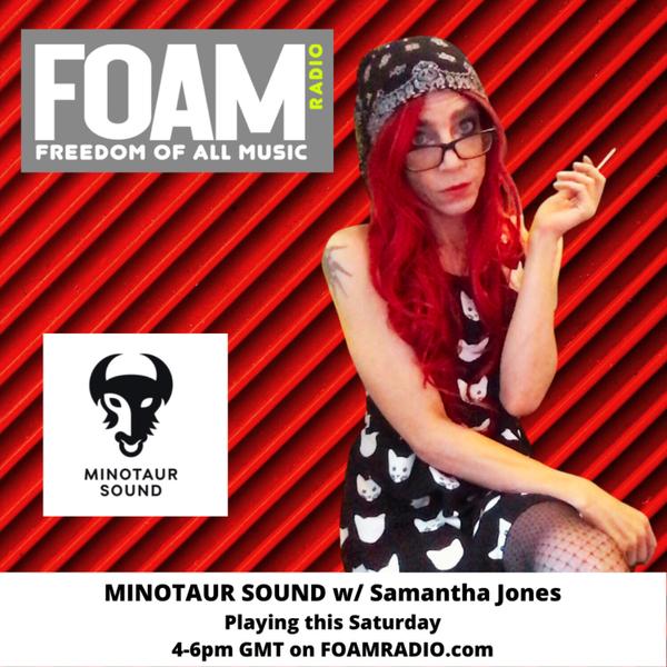 Trippy boombap and sample heaven with Samantha Jones artwork