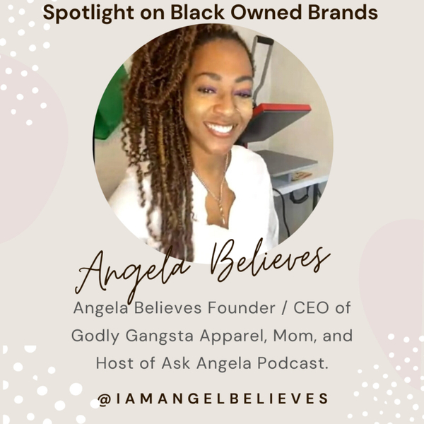 Spotlight on Angela Believes Godly Gangsta artwork
