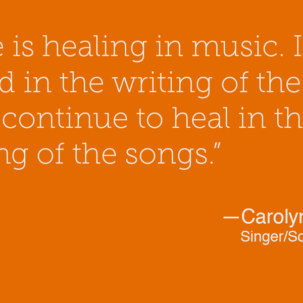 10 – Songs That Matter – Carolyn Harley