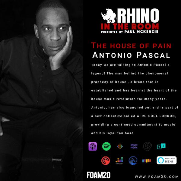 The House Of Pain - Antonio Pascal artwork