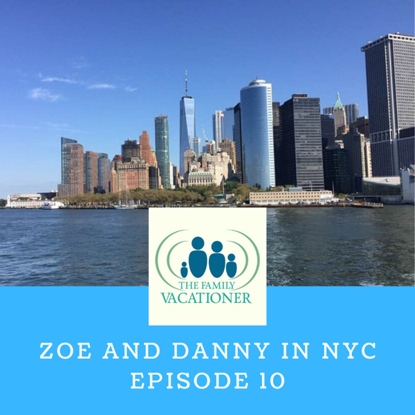 Danny and Zoe in NYC artwork