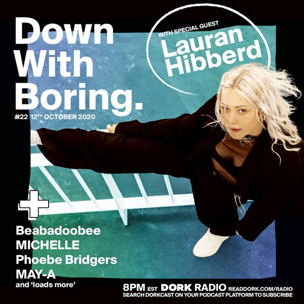Down With Boring #0022: Lauran Hibberd artwork