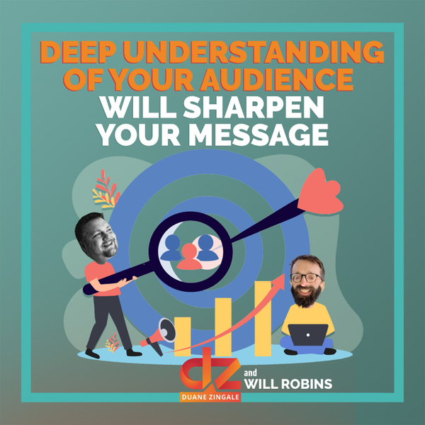 MYMS 47: Deep Understanding of Your Audience Will Sharpen Your Message ft. Will Robins artwork