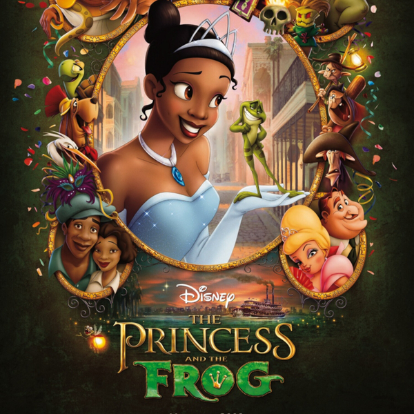 S03EP03 The Princess and the Frog artwork