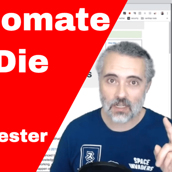 The Automate or Die Special - do you have to automate to survive in testing? artwork