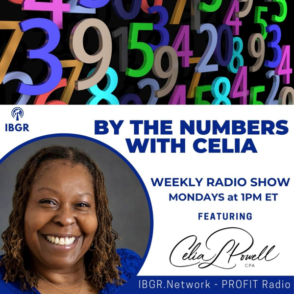 By the Numbers with Celia Powell  artwork