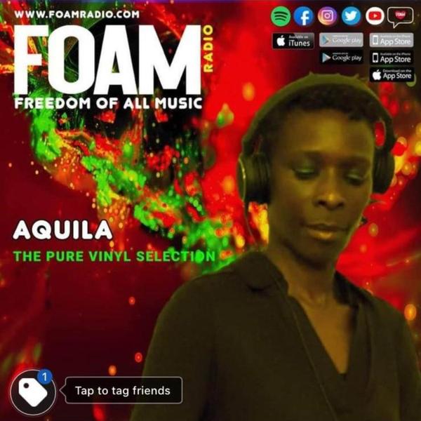 AQUILA The Pure Vinyl Selection Show 13/06/21 artwork