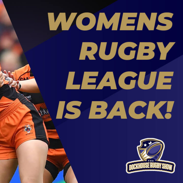 Women's Rugby League is BACK artwork