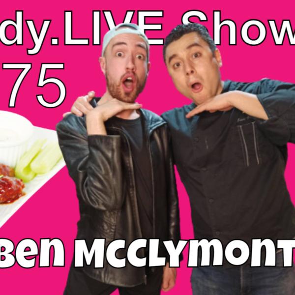 Eddy.LIVE Show #75 - Ben McClymont, Actor/Comedian artwork